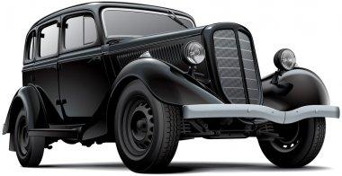 Old fashioned Soviet car