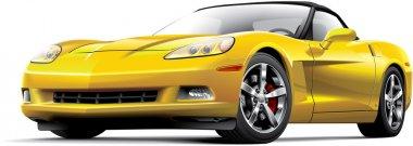 American luxury sports car