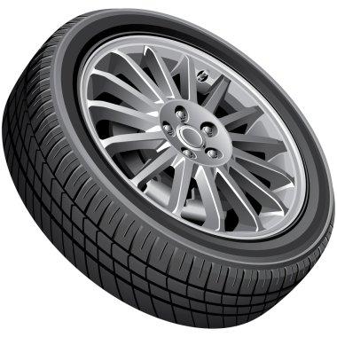 Passenger's car's wheel