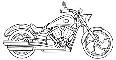 Sketch Motorcycle