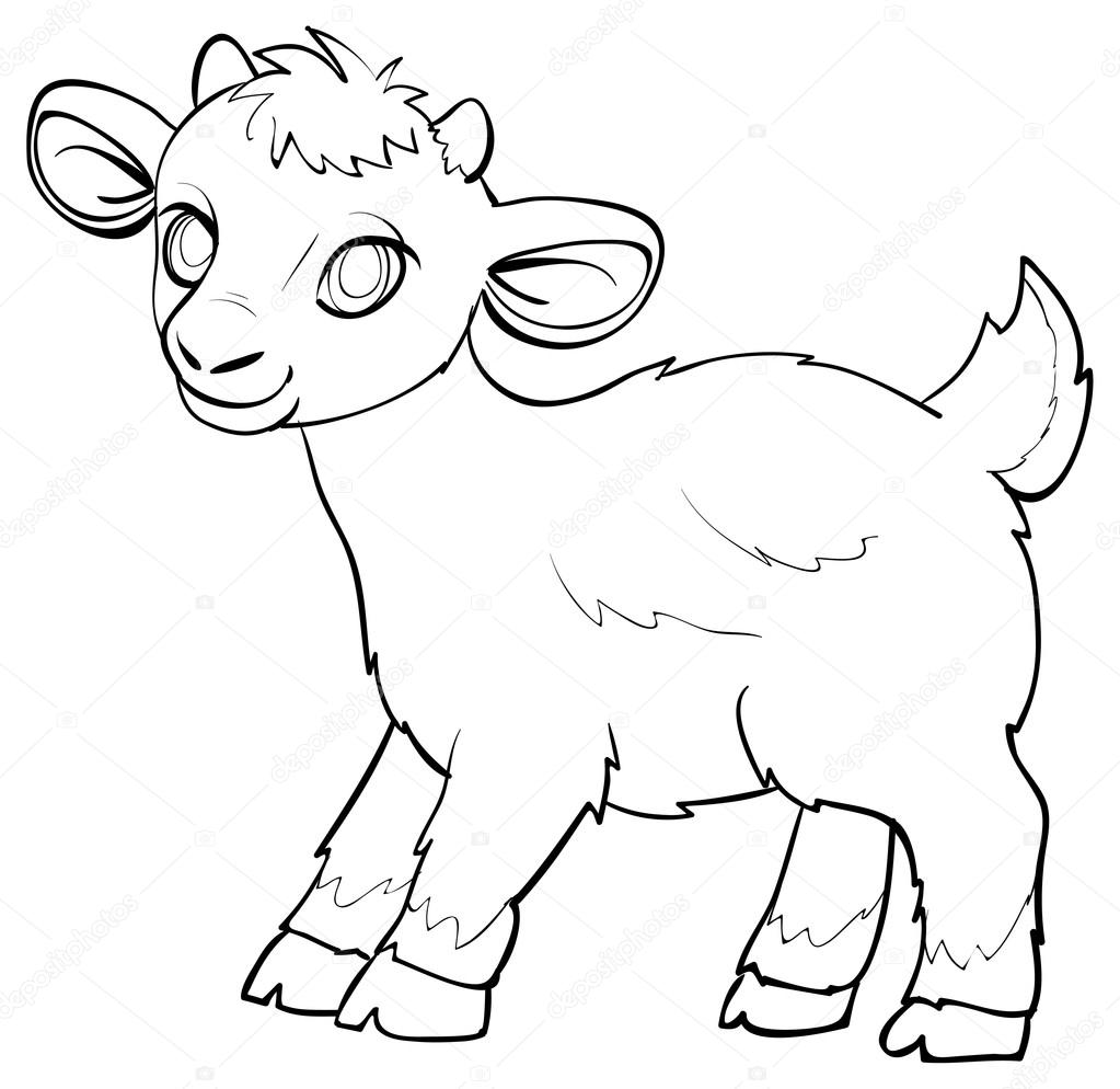 sketch sheep vector illustration vector by kopirin