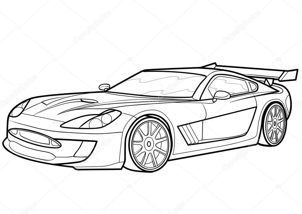 Yarış Arabası çizimleri Gazetesujin