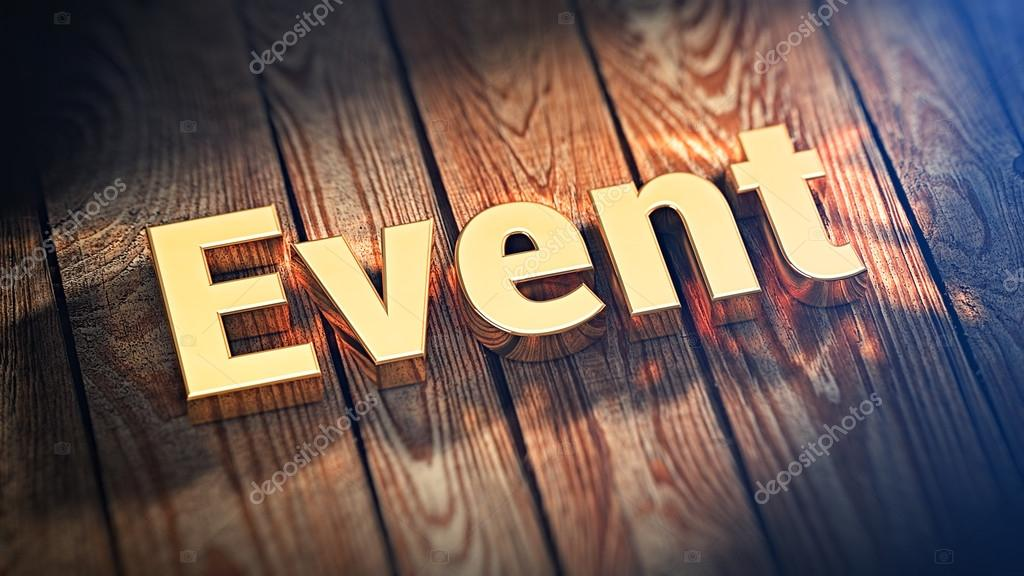 word event on wood planks stock photo timbrk 100732324