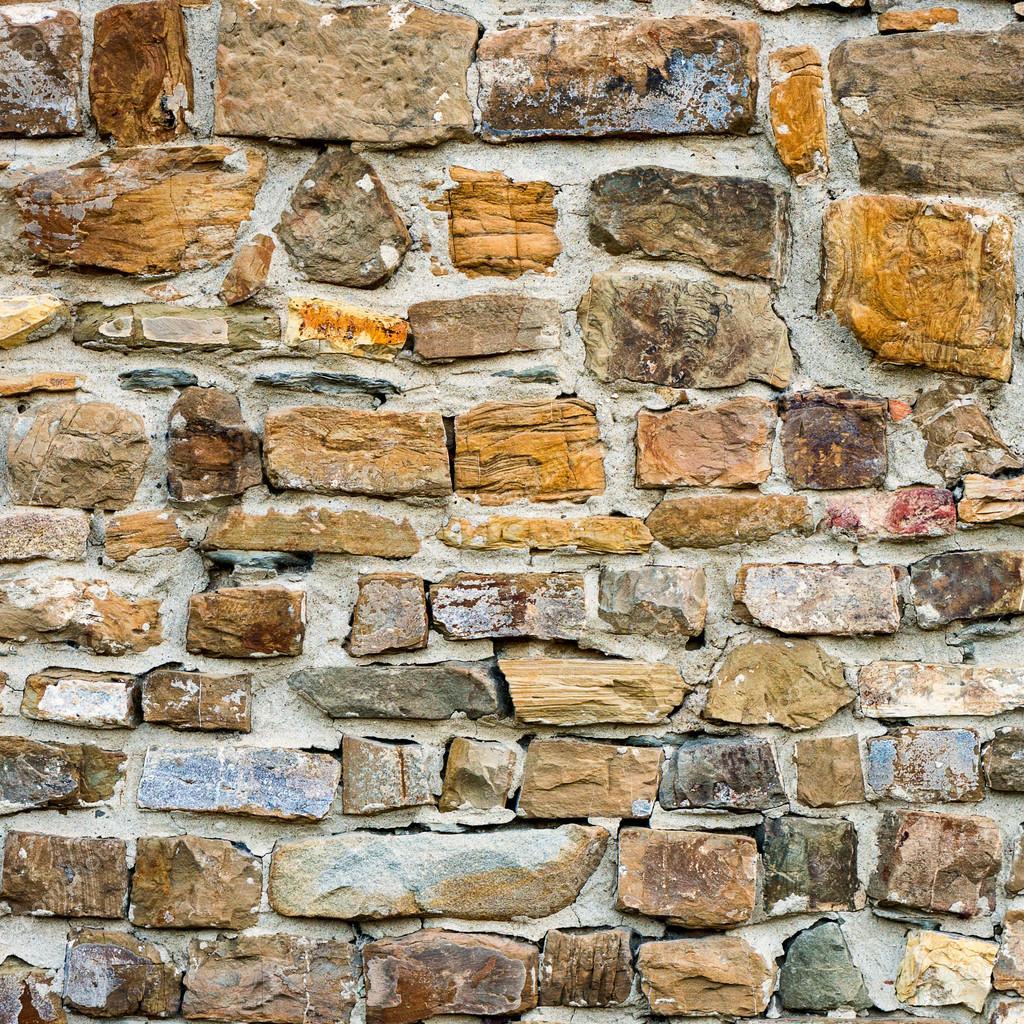 Textura de ladrillo de piedras coloridas foto de stock - Ladrillos de piedra ...