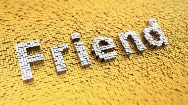 Pixelated Friend