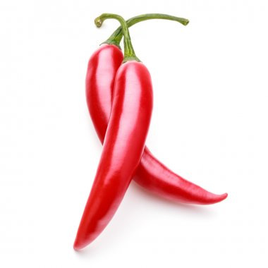 Red chilli cayenne peppers