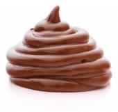Photo Chocolate cream swirl
