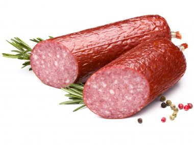 Salami with rosemary and peppercorns