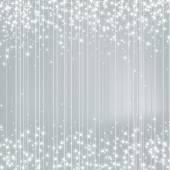 Světlé stříbrné pozadí s hvězdami. Slavnostní Design. Nový rok, C