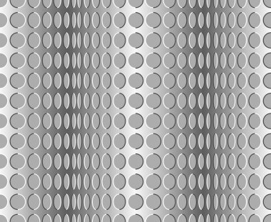 Seamless wavy pattern. Optical illusion with motion background