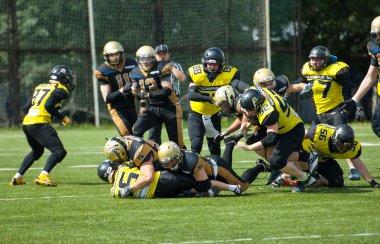 A. Lemeshev (15) fall down