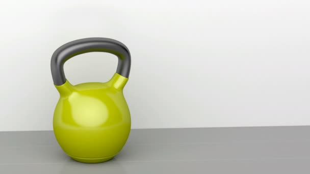 Kettlebell in the fitness centre
