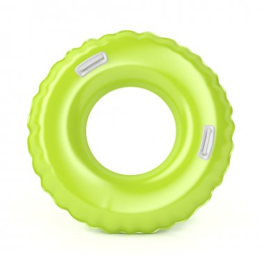 Green swim ring