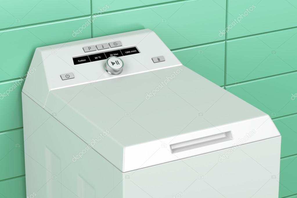 Toplader waschmaschine u2014 stockfoto © magraphics #73706191