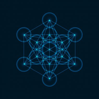 Geometric Figure Metatrons Cube