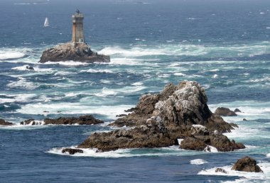 rough and rocky coastline of Brittany
