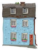 Gewöhnliches Wohnhaus