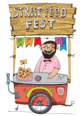 food festival cart
