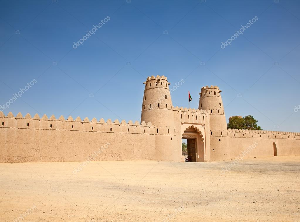 Famous Jahili fort in Al Ain oasis
