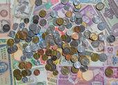 Fotografia Vecchie monete-circolate