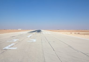 Runway of the Riyadh airport