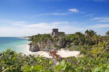 Ruins of Mayan fortress
