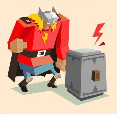 Thor super warrior