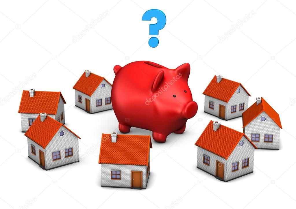 Red Piggy Bank - 웹