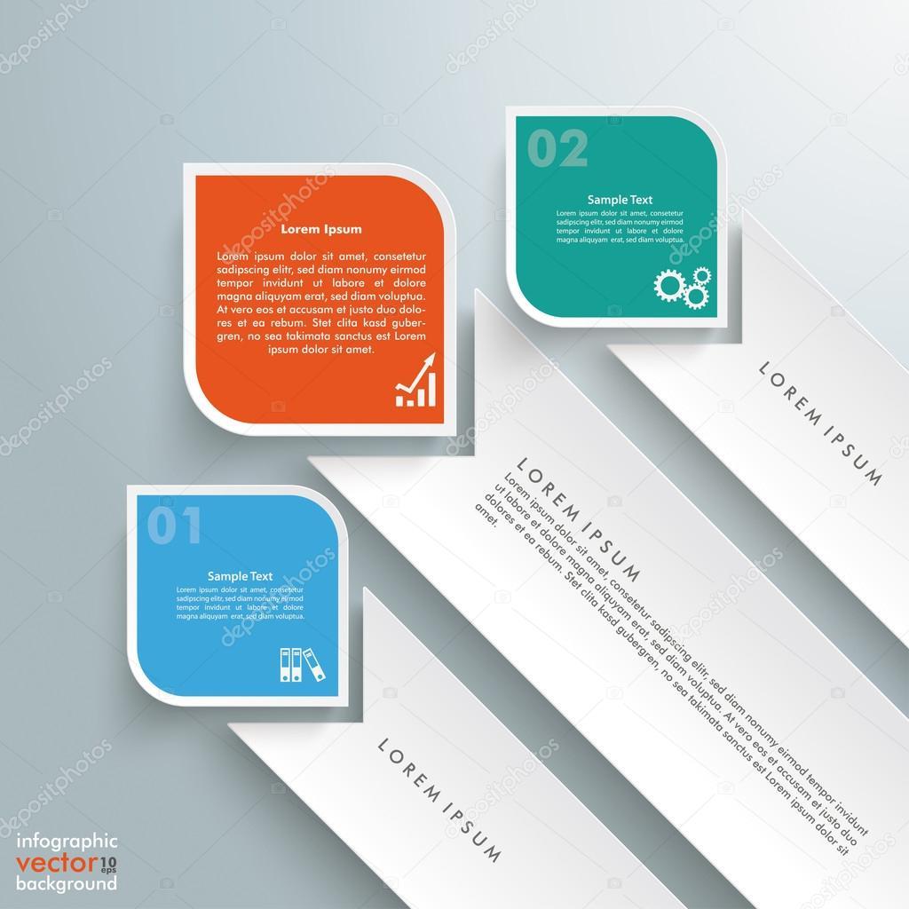 Plantilla diseño de rectángulos, estacas — Archivo Imágenes ...