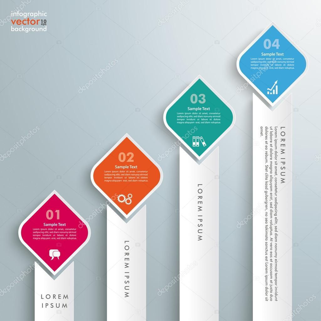 Plantilla diseño de rectángulos, tabla — Vector de stock © limbi007 ...