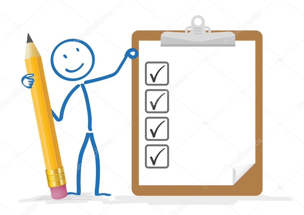Clipboard And Pencil Clipart