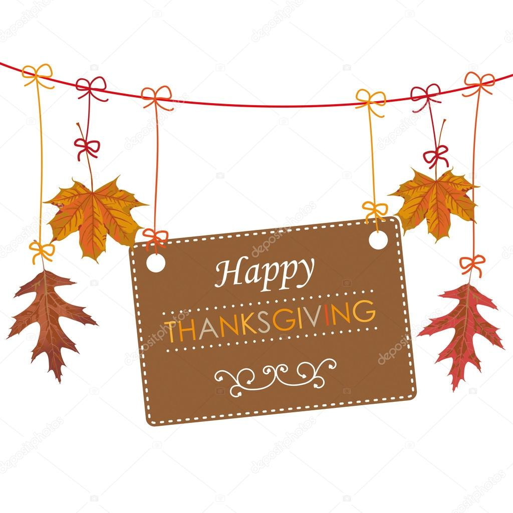 Thanksgiving Banner design — Stock Vector © limbi007 #82230016