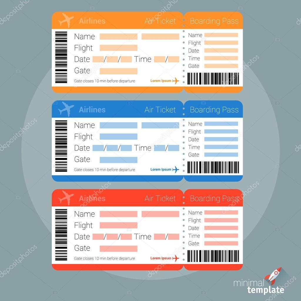 Flugzeug-Karten-Vorlagen entwerfen — Stockvektor © mustahtar #121687878