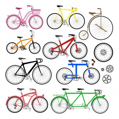 Color Bicycles design