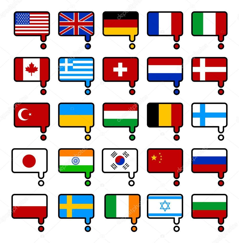 web language icon set � stock vector 169 mustahtar 83567206