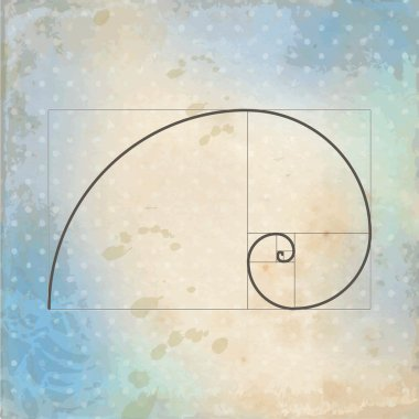 Golden ratio -template