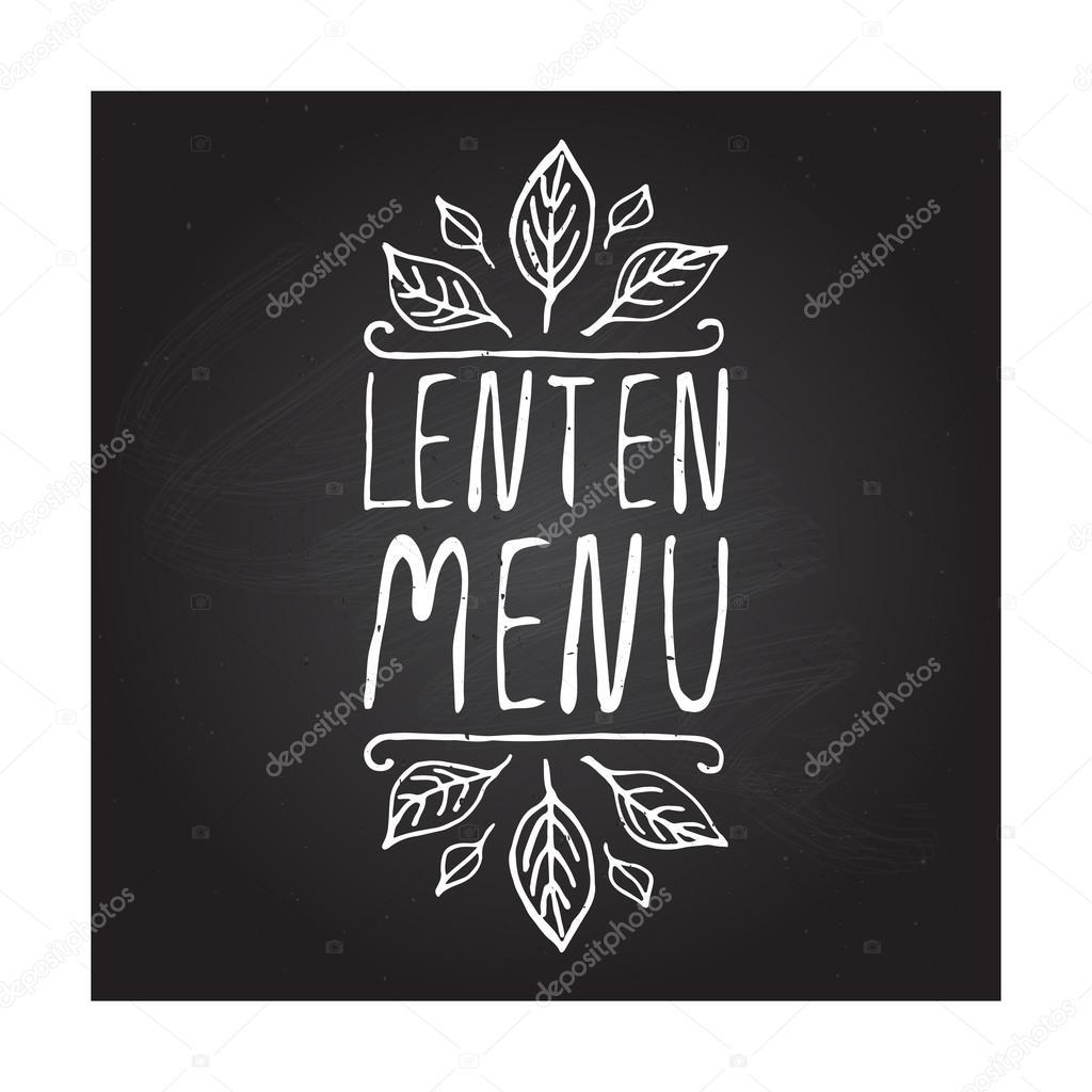 Hand-sketched typographic element