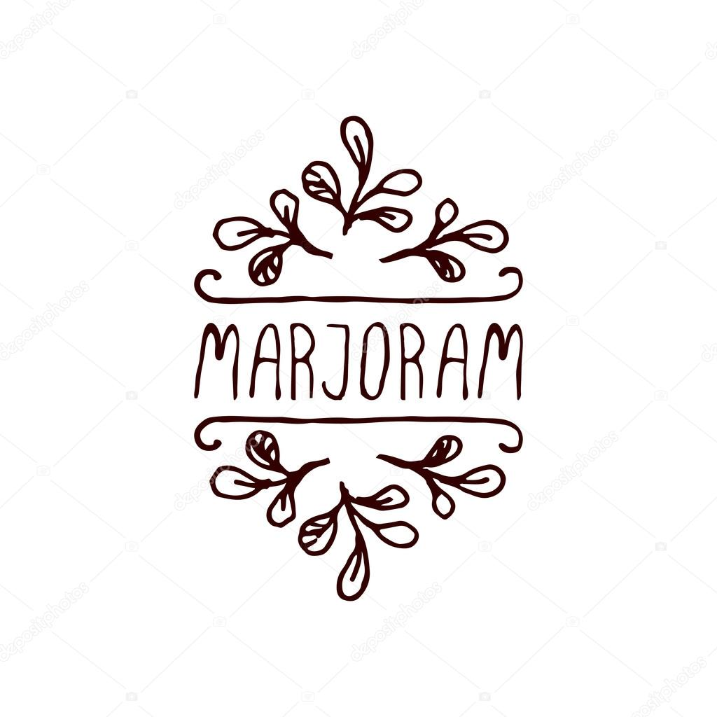 Herbs and Spices Collection - Marjoram