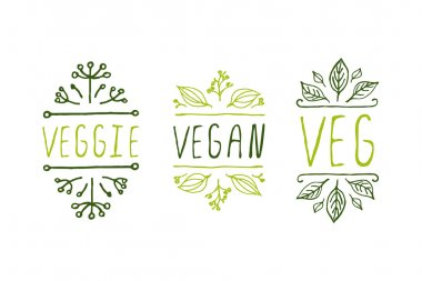 Healthy food product labels.