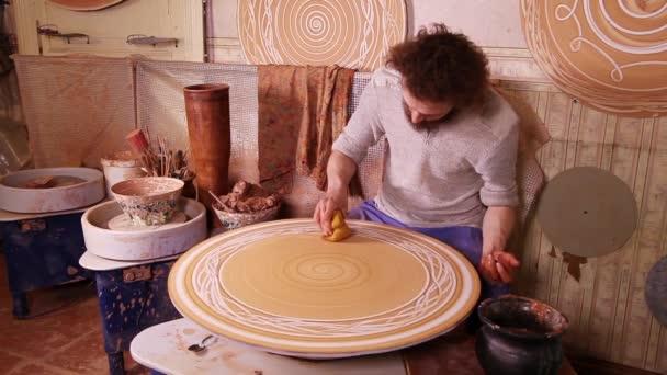 Potter vytvoření dekorativní panely