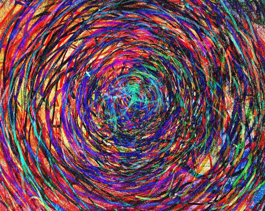 Kinder abstrakte Kunst Malerei — Stockfoto © alkir_dep #57056971