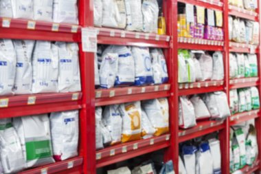 Pet Food Packets At Store