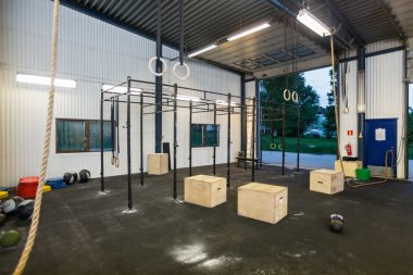 Interior Of Cross Fitness Box
