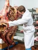 Řezník třídění bifteky