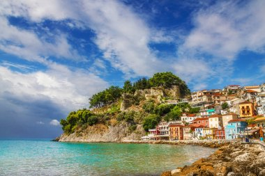 Morning view of Parga, Greece
