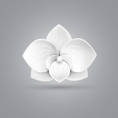 flower logo icon vector