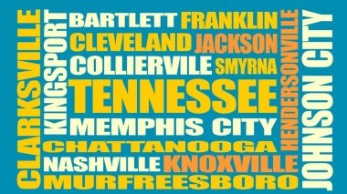 Tennessee state cities list