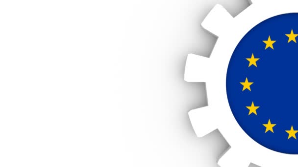 Üzleti alaprajz sablon. Európai Unió ipari