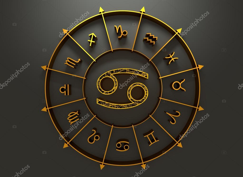 Astrology Symbol Cancer Stock Photo Jegasra 113473942