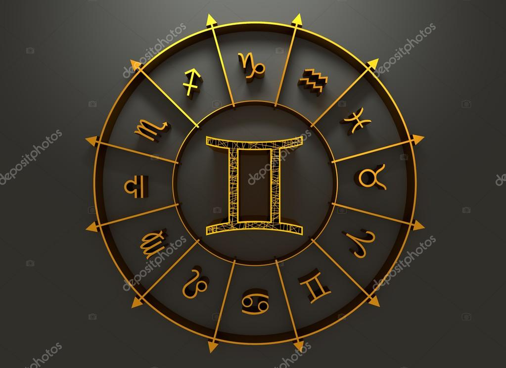 Astrology Symbol Gemini Stock Photo Jegasra 113473958